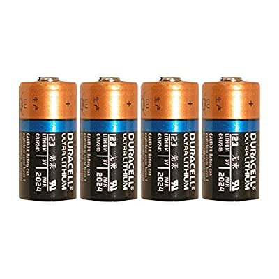 4 Count Duracell Ultra Lithium 3V CR17345 Leak Resistant Long Lasting Batteries from Duracell