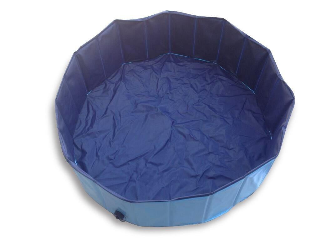Slaiya 折り畳み式水泳プール バスタブ 犬 ペット用 31.5x7.9(in) Slaiya B01LAP0ZFI 31.5x7.9(in)|Lighe blue/Blue Lighe blue/Blue 31.5x7.9(in)