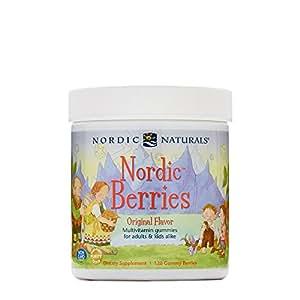 Nordic Naturals- Nordic Berries 3 Gram Gummy Berries 120 Count
