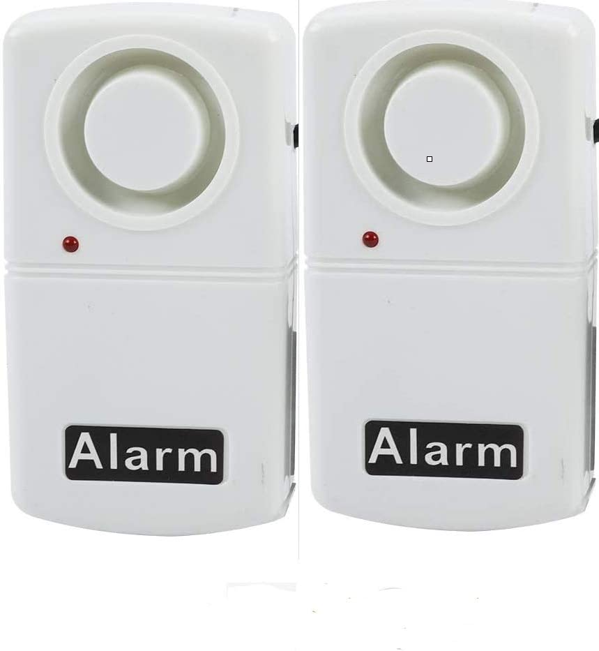 Power Failure Alarm,Automatic Power Cut Failure Alerter,120db LED Indicator Smart Alarm Warning Siren,High Voltage Resistant Design(Needs 9V Battery,Not Included) (2 Packs)