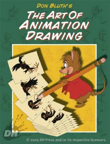 Don Bluth's Art Of Animation Drawing by Brand: Dark Horse