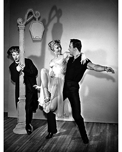 Premium Photographic Print Director (Globe Photos ArtPrints Lucille Ball, Georgine Dary And Gary Menteer On Stage - 8