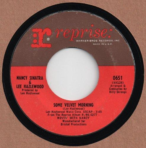 NANCY SINATRA & LEE HAZLEWOOD - SOME VELVET MORNING 45 RPM (Lee Hazlewood And Nancy Sinatra Some Velvet Morning)