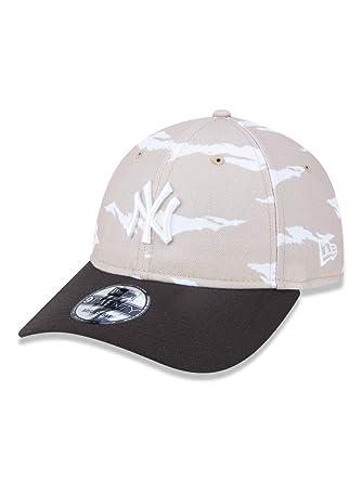 BONE 920 NEW YORK YANKEES MLB ABA CURVA STRAPBACK KAKI MARROM NEW ... db1704f86b5