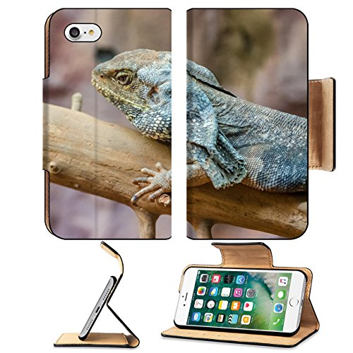MSD Premium Apple iPhone 7 iPhone7 Flip Pu Leather Wallet Case Frilled Lizard IMAGE 20988032