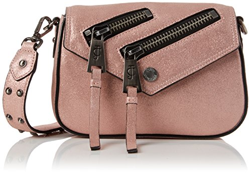 Juicy Couture Women's Olympic Crossbody Cross-Body Bag Pink (Dusty Rose)