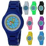 TimerMall Fashion Children Boys Girls Kids Students Silicone Rubber Analog Quartz Time Teacher Watch