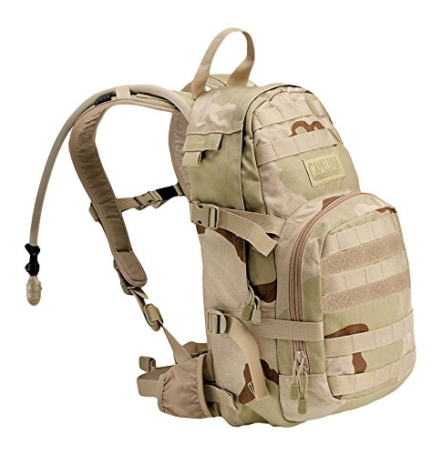 CamelBak HAWG Hydration Pack, Desert Camouflage DCU Pattern, 100oz