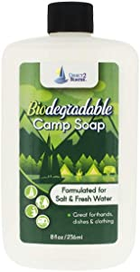 Biodegradable Camp Soap - 8 oz - for Fresh