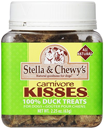 Stella & Chewy's Carnivore Kisses 100% duck treats for dogs 2.25 oz