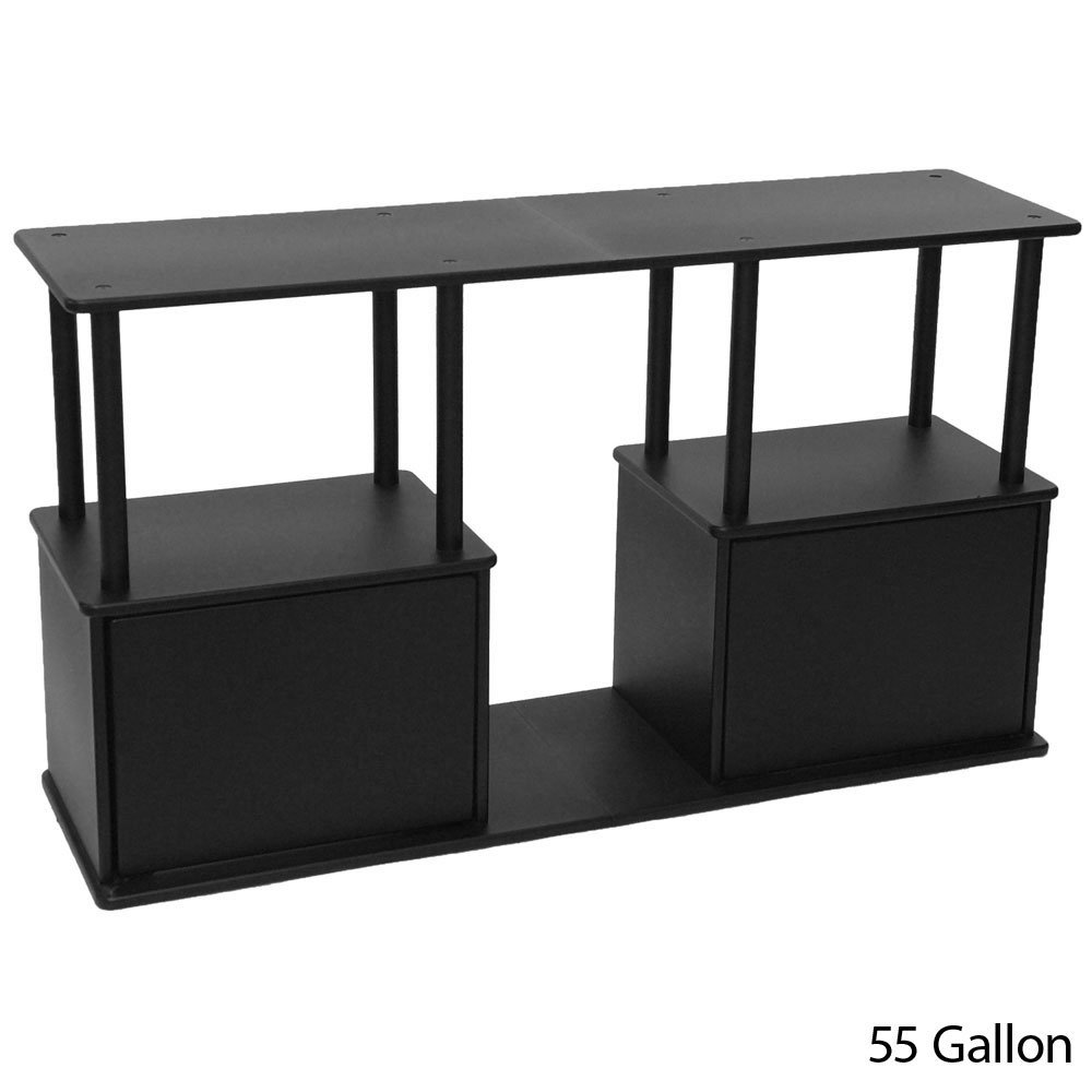 Cheap 55 gallon aquarium with stand interior d cor for Fish tank stand