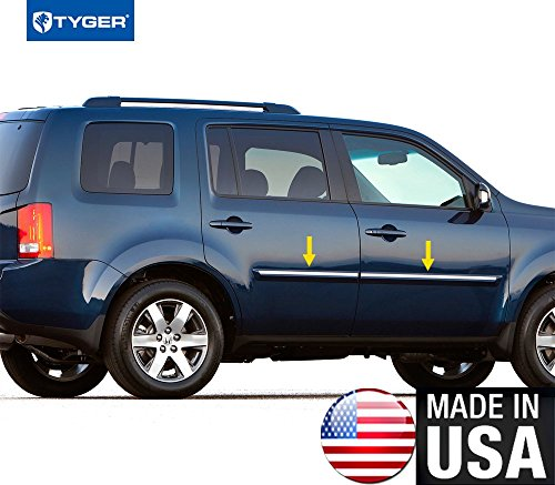 Tyger Auto R3510 Made in USA! Works with 2009-2016 Honda Pilot Body Side Molding Trim 5/8