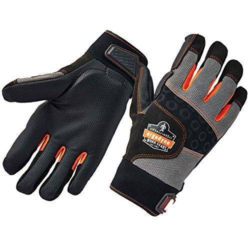 ProFlex 9002 Anti-Vibration Work Gloves, ANSI/ISO Certified, Full Fingered, X-Large