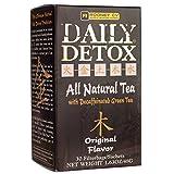 Daily Detox All Natural Tea, Decaffeinated Original Green Tea, 30 Count Review