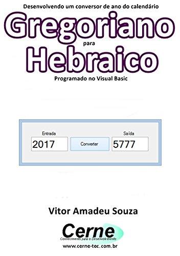 Calendario Gregoriano.Amazon Com Desenvolvendo Um Conversor De Ano Do Calendario
