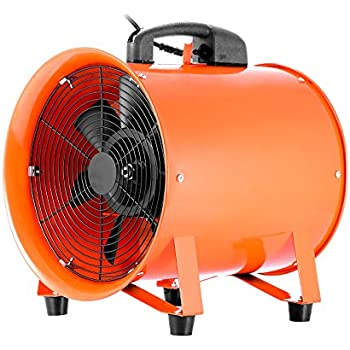 VEVOR Utility Blower Fan 12 Inch Portable Ventilator High Velocity Utility  Blower Mighty Mini Low Noise