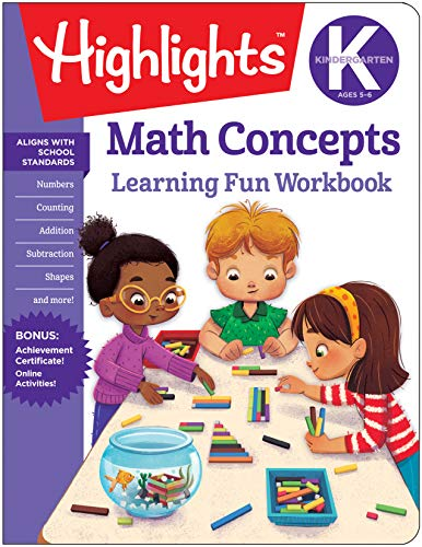 Kindergarten Math Concepts (Highlights(TM) Learning Fun Workbooks)