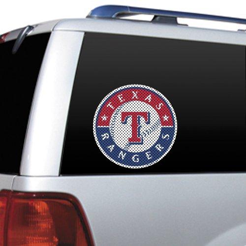 - MLB Texas Rangers Die Cut Window Film