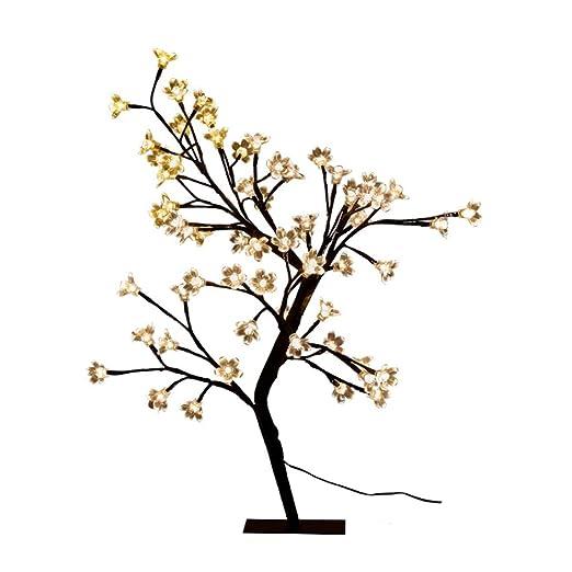 Lámparas de escritorio Flor de cerezo de la lámpara de escritorio ...