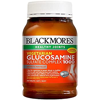 Amazon.com: Blackmores vegetariana Glucosamina Complejo 200 ...