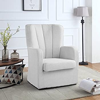 Amazon Com Modern Swivel Armchair Rotating Accent Chair