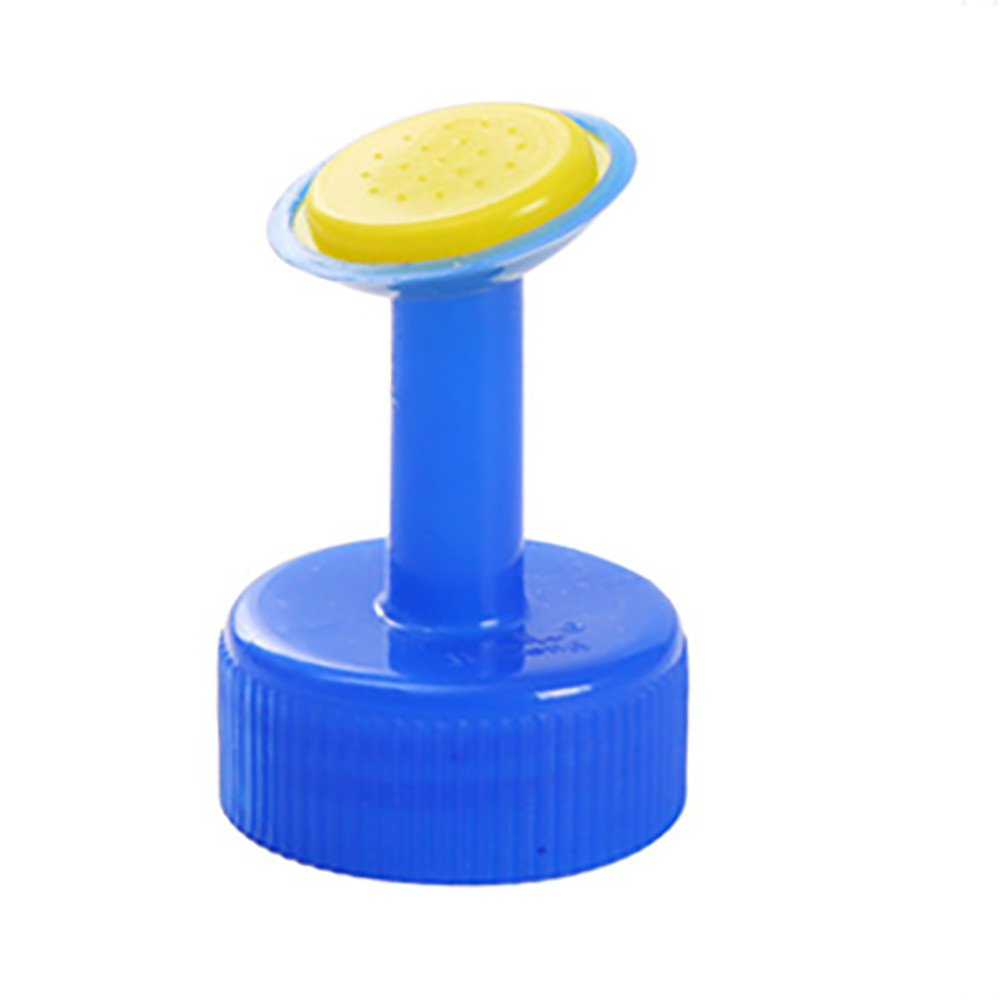 wuliLINL Bottle Cap top Sprinkler PVC Plastic Watering Caliber Little Nozzle Sprinkler Head Watering Vegetables Garden Plant Seed Seedlings Irrigation Mist Nozzle (Blue)