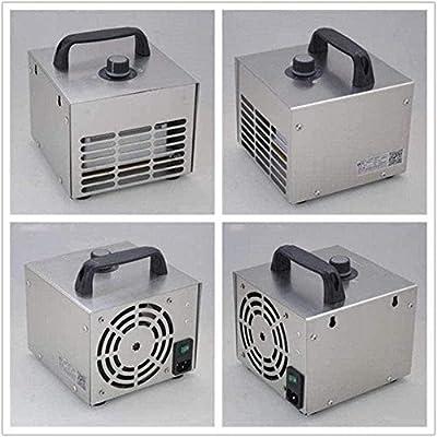 YU MENG Generador de ozono esterilizador Ozonizador O3 máquina de esterilizador de purificador de Aire móvil ozono para el hogar Taller de automóviles Lugares ...