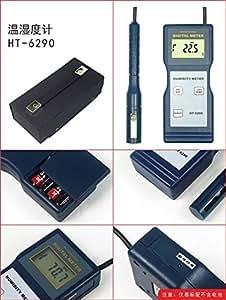 byqtec ht-6290Medidor de humedad termómetro digital medidor de temperatura humedad Tester Medidor Con Medida Rango de humedad 10~ 95% RH; Temp.: -10~ 60°C (14~ 140°F)