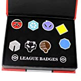 CHAOZI0 Pocket Monsters Gym Badges Collection