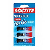 LOCTITE 1734231 1g Super Glue Liquid Mini Trio, Pack of 3pc, Clear