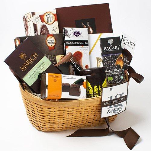 Chocolate Lover's Premier Gift Basket (3.1 pound) by igourmet