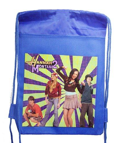 Birthday Gift - Hannah Montana Secret Pop Star Drawstring Bag in Blue