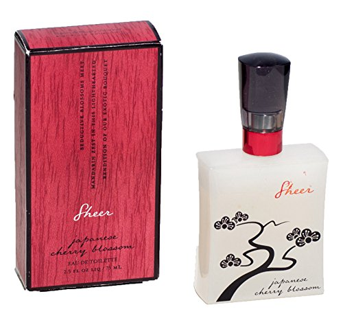 Cherry Mandarin Eau De Toilette - Bath and Body Works JAPANESE CHERRY BLOSSOM Sheer Eau De Toilette Perfume 2.5 FL