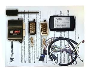 Remote Starter Kit w/ Keyless Entry for Chrysler 200 - Plug & Play Installation