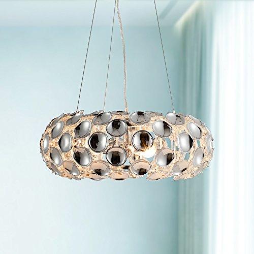 Saint Mossi Reflexion Illusion Chandelier Modern Style Pendant Chandelier Lighting 3 E12 Bulbs H8 Dia19