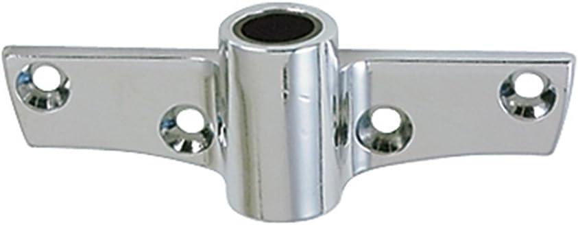 2 Pieces 316 Stainless Steel Rowlock Socket Oarlock Sockets Mount for Boat