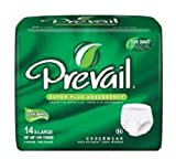 Health & Personal Care : Prevail Maximum Absorbency Incontinence Underwear, X-Large, 14-Count
