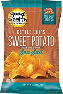 product image for Good Health Glories Kettle Sweet Potato Chips, 5-Ounce (Pack of 12)
