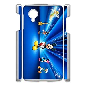 Google Nexus 5 Phone Case Cartoon Fantasia Protective Cell Phone Cases Cover DFJ121607