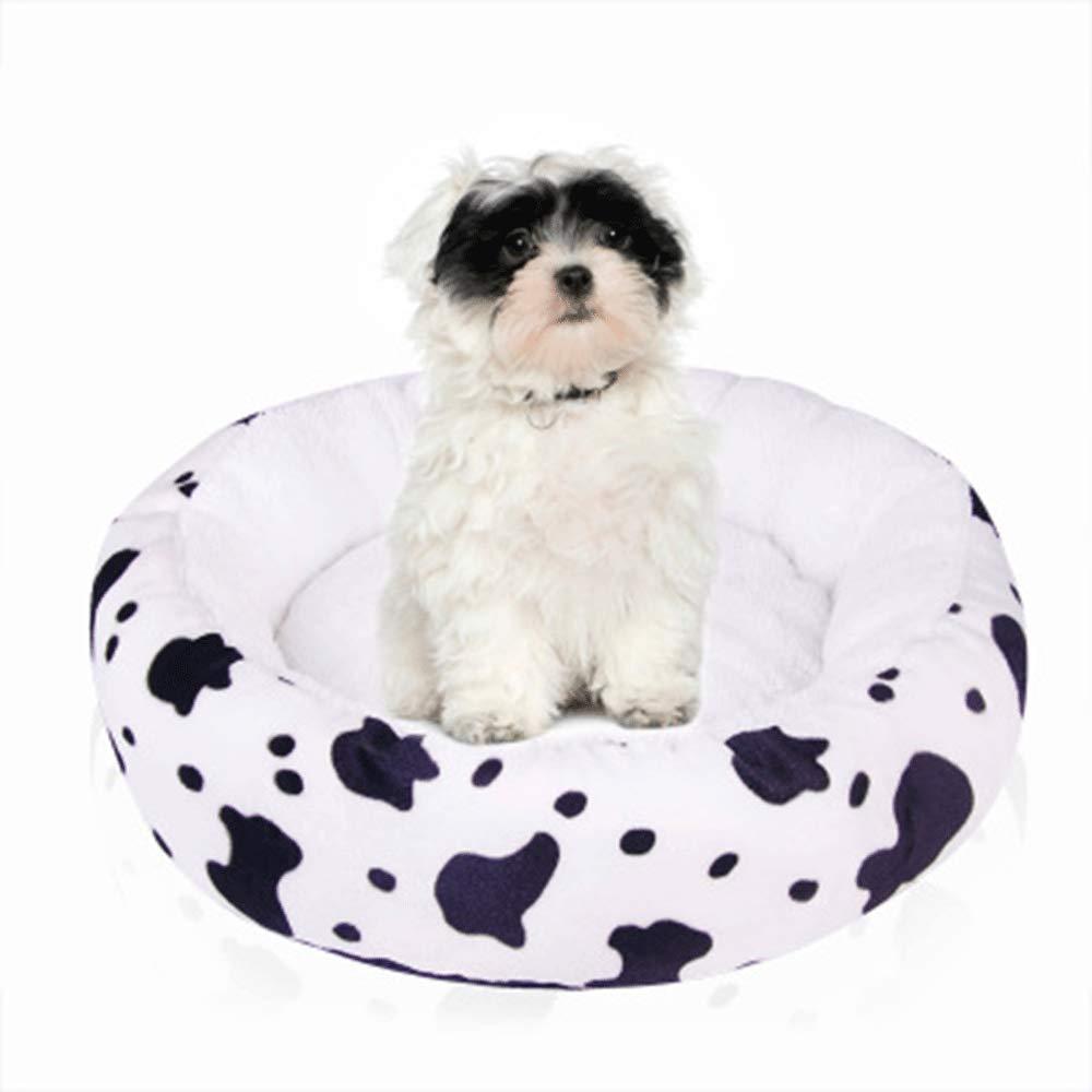 HUIFANG Forniture Forniture Forniture per Animali Domestici con Materassino per Cani A (colore   Bianca, Dimensioni   M) c29a08