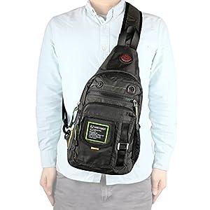 Amazon.com : Sling Bag, Kawei Knight Chest Shoulder Bag Backpack ...