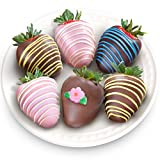 Golden State Fruit 6 Piece Chocolate Covered Strawberries