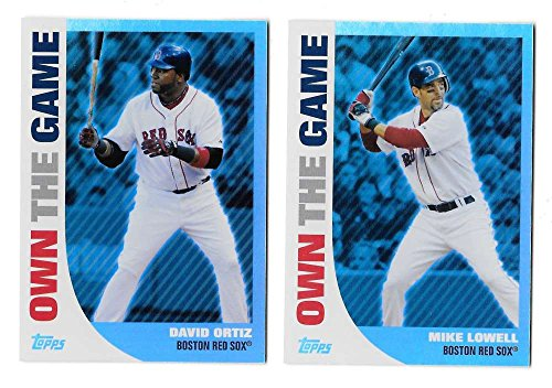 2008 Topps Own the Game - BOSTON RED SOX Team Set