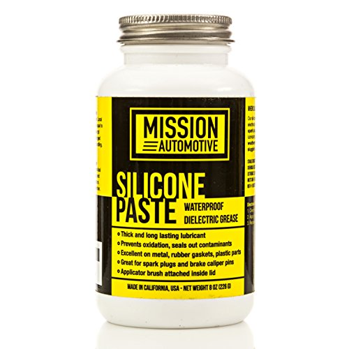 Mission Automotive Dielectric Grease/Silicone Paste/Waterproof Marine Grease (8 Oz.) - Excellent Silicone Grease ()
