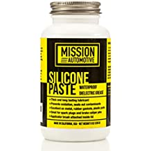 Mission Automotive Dielectric Grease/Silicone Paste/Waterproof Marine Grease (8 Oz.) - Made in USA - Excellent Silicone Grease