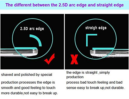 Full Coverage Ultra-Crystal Clear Anti-Scratch Tempered Glass Screen Protector [Easy to Install] for Samsung Galaxy J3 LTE J300M Net10 Android phone by ReelWonder (Image #3)