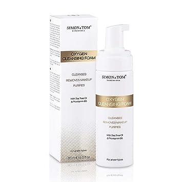 Simon & Tom – Espuma Limpiadora Facial – 180ML – Limpia, Elimina el maquillaje y