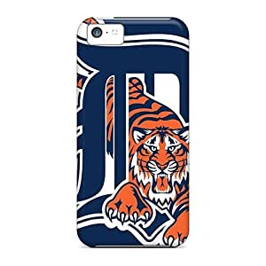 For Iphone 5c Hard Phone Case Cover(detroit Tigers)