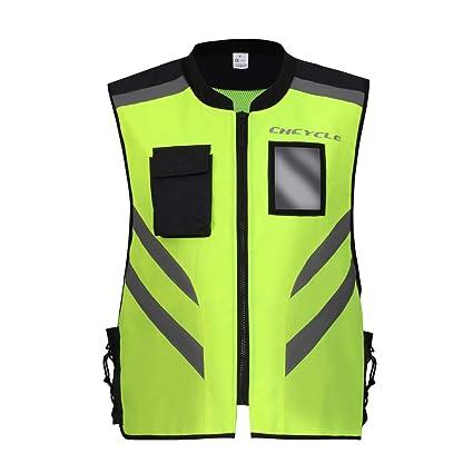 Hola visibilidad Chaleco de la motocicleta Ropa de seguridad industrial Reflectante