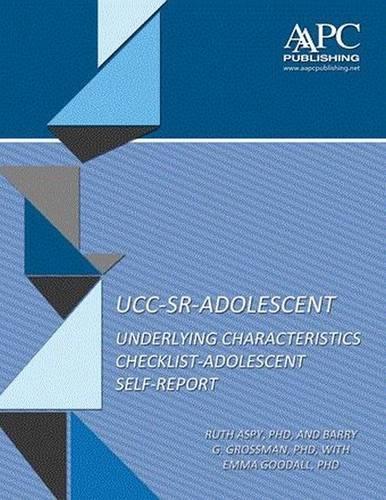Download Adolescent Self-Report UCC (UCC-SR-ADOLESCENT) ebook